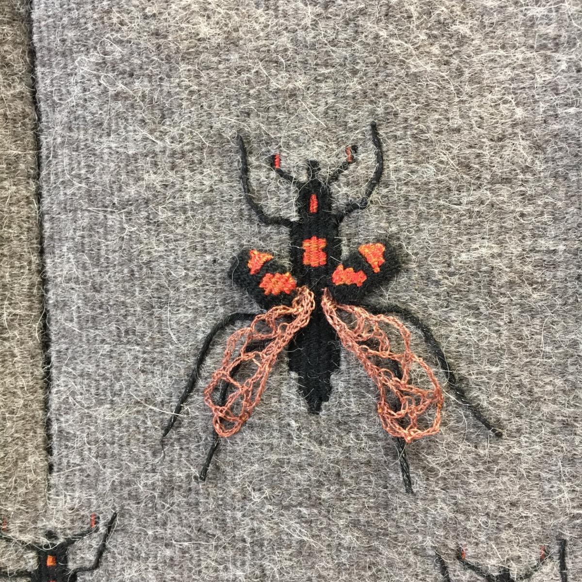 Pandora Box - American Burying Beetle, detail